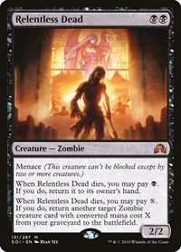 Relentless Dead, Magic: The Gathering, Shadows over Innistrad