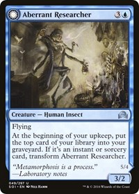 Aberrant Researcher, Magic, Shadows over Innistrad