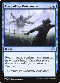 Compelling Deterrence, Magic: The Gathering, Shadows over Innistrad
