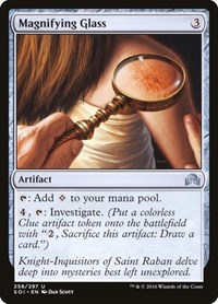 Magnifying Glass, Magic: The Gathering, Shadows over Innistrad
