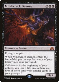 Mindwrack Demon, Magic: The Gathering, Shadows over Innistrad