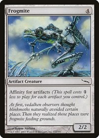 Frogmite, Magic: The Gathering, Mirrodin