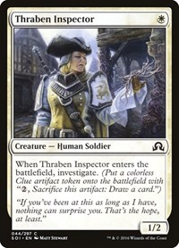Thraben Inspector, Magic: The Gathering, Shadows over Innistrad