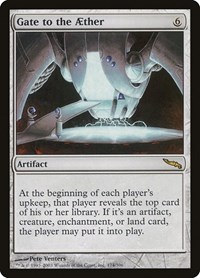 Gate to the Aether, Magic: The Gathering, Mirrodin