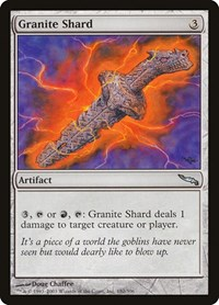 Granite Shard, Magic, Mirrodin