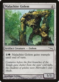Malachite Golem, Magic: The Gathering, Mirrodin