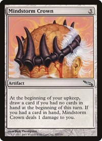 Mindstorm Crown, Magic: The Gathering, Mirrodin