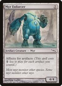 Myr Enforcer, Magic: The Gathering, Mirrodin