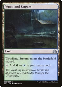 Woodland Stream, Magic, Shadows over Innistrad