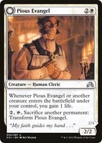 Pious Evangel, Magic: The Gathering, Shadows over Innistrad
