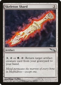 Skeleton Shard, Magic: The Gathering, Mirrodin