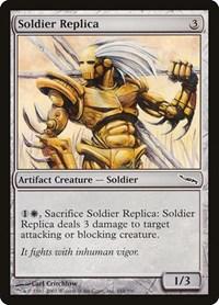 Soldier Replica, Magic: The Gathering, Mirrodin