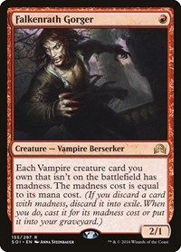 Falkenrath Gorger, Magic: The Gathering, Shadows over Innistrad