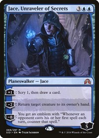 Jace, Unraveler of Secrets, Magic: The Gathering, Shadows over Innistrad