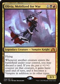 Olivia, Mobilized for War, Magic: The Gathering, Shadows over Innistrad