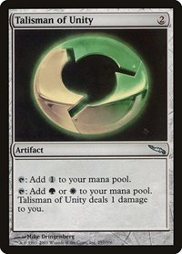 Talisman of Unity, Magic: The Gathering, Mirrodin