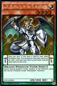 Luster Pendulum, the Dracoslayer, YuGiOh, Premium Gold: Infinite Gold
