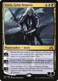 Sorin, Grim Nemesis, Magic: The Gathering, Shadows over Innistrad