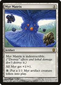 Myr Matrix, Magic: The Gathering, Darksteel