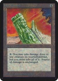 Jade Monolith, Magic, Alpha Edition