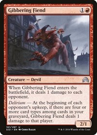 Gibbering Fiend, Magic, Shadows over Innistrad
