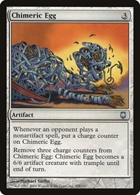 Chimeric Egg, Magic: The Gathering, Darksteel