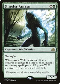 Silverfur Partisan, Magic: The Gathering, Shadows over Innistrad
