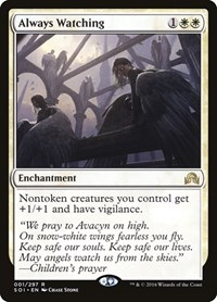 Always Watching, Magic: The Gathering, Shadows over Innistrad
