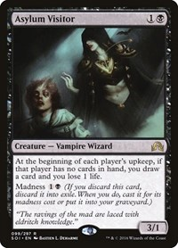 Asylum Visitor, Magic: The Gathering, Shadows over Innistrad