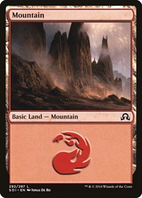 Mountain (292), Magic: The Gathering, Shadows over Innistrad
