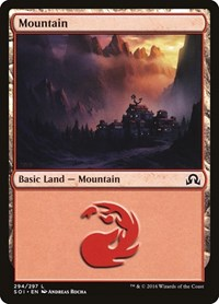 Mountain (294), Magic: The Gathering, Shadows over Innistrad