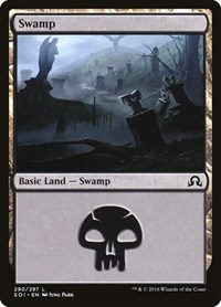 Swamp (290), Magic: The Gathering, Shadows over Innistrad