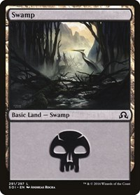 Swamp (291), Magic: The Gathering, Shadows over Innistrad