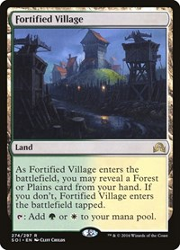 Fortified Village, Magic: The Gathering, Shadows over Innistrad