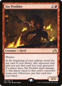 Sin Prodder, Magic: The Gathering, Shadows over Innistrad