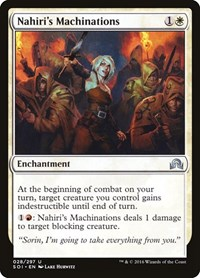 Nahiri's Machinations, Magic: The Gathering, Shadows over Innistrad