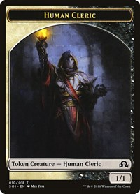 Human Cleric Token, Magic: The Gathering, Shadows over Innistrad