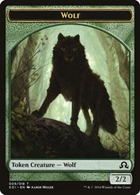 Wolf Token, Magic: The Gathering, Shadows over Innistrad
