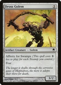 Dross Golem, Magic: The Gathering, Darksteel
