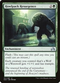Howlpack Resurgence, Magic: The Gathering, Shadows over Innistrad