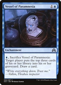 Vessel of Paramnesia, Magic: The Gathering, Shadows over Innistrad
