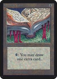 Jayemdae Tome, Magic, Alpha Edition