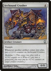 Arcbound Crusher, Magic: The Gathering, Darksteel