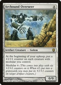 Arcbound Overseer, Magic: The Gathering, Darksteel
