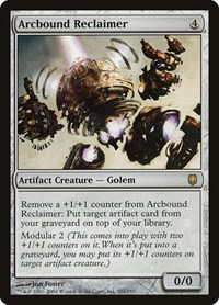 Arcbound Reclaimer, Magic: The Gathering, Darksteel