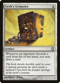 Geth's Grimoire, Magic: The Gathering, Darksteel