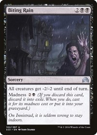Biting Rain, Magic: The Gathering, Shadows over Innistrad