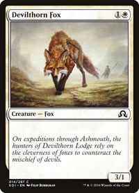 Devilthorn Fox, Magic: The Gathering, Shadows over Innistrad