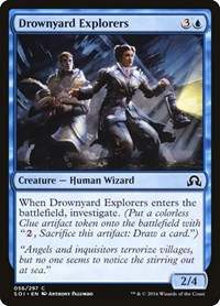 Drownyard Explorers, Magic: The Gathering, Shadows over Innistrad