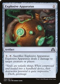 Explosive Apparatus, Magic: The Gathering, Shadows over Innistrad